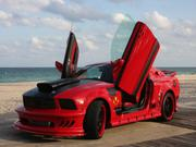 Ford Only 9020 miles Ford Mustang Red Mist Movie Car Replica